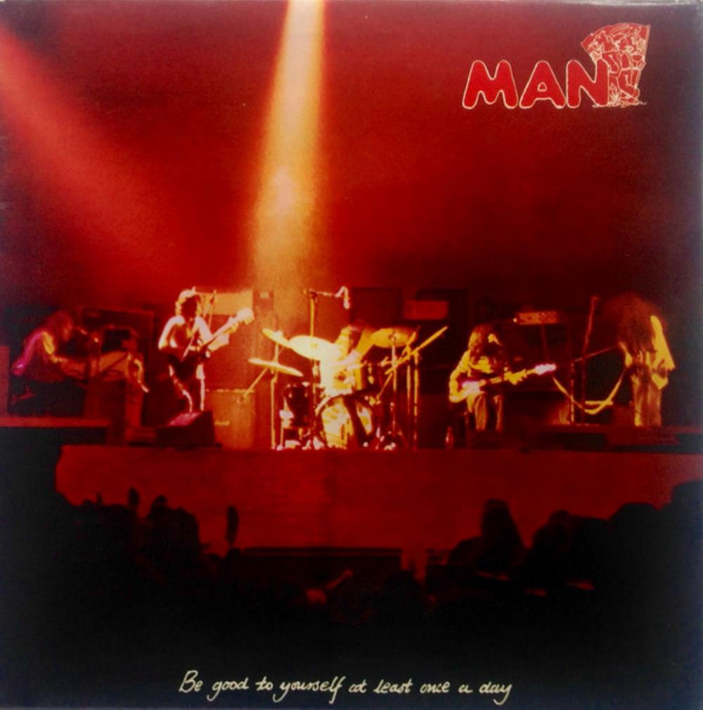 Man - Be Good To Yourself At Least Once A Day CD (album) cover