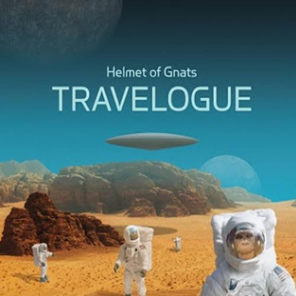 Helmet of Gnats - Travelogue CD (album) cover