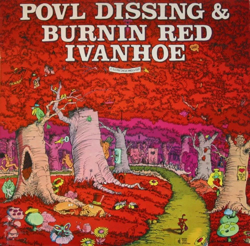 6 Elefantskovcikadeviser (Povl Dissing & Burnin Red Ivanhoe) by BURNIN' RED IVANHOE album cover