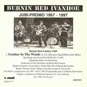 Burnin' Red Ivanhoe Jubi-Promo 1967-1997 album cover