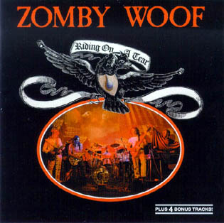 Zomby Woof - Riding On A Tear CD (album) cover