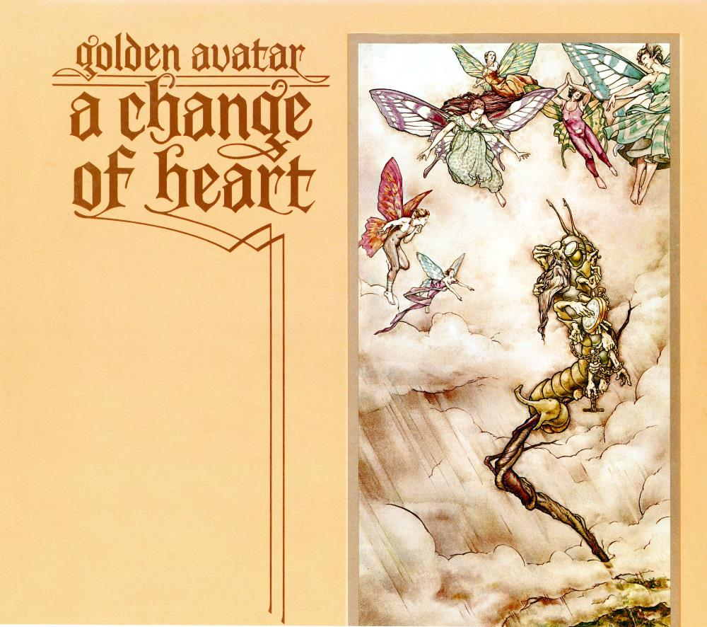 Golden Avatar - A Change Of Heart CD (album) cover