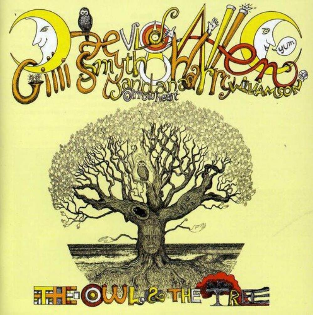 Mother Gong - Mother Gong & Daevid Allen: The Owl And The Tree CD (album) cover