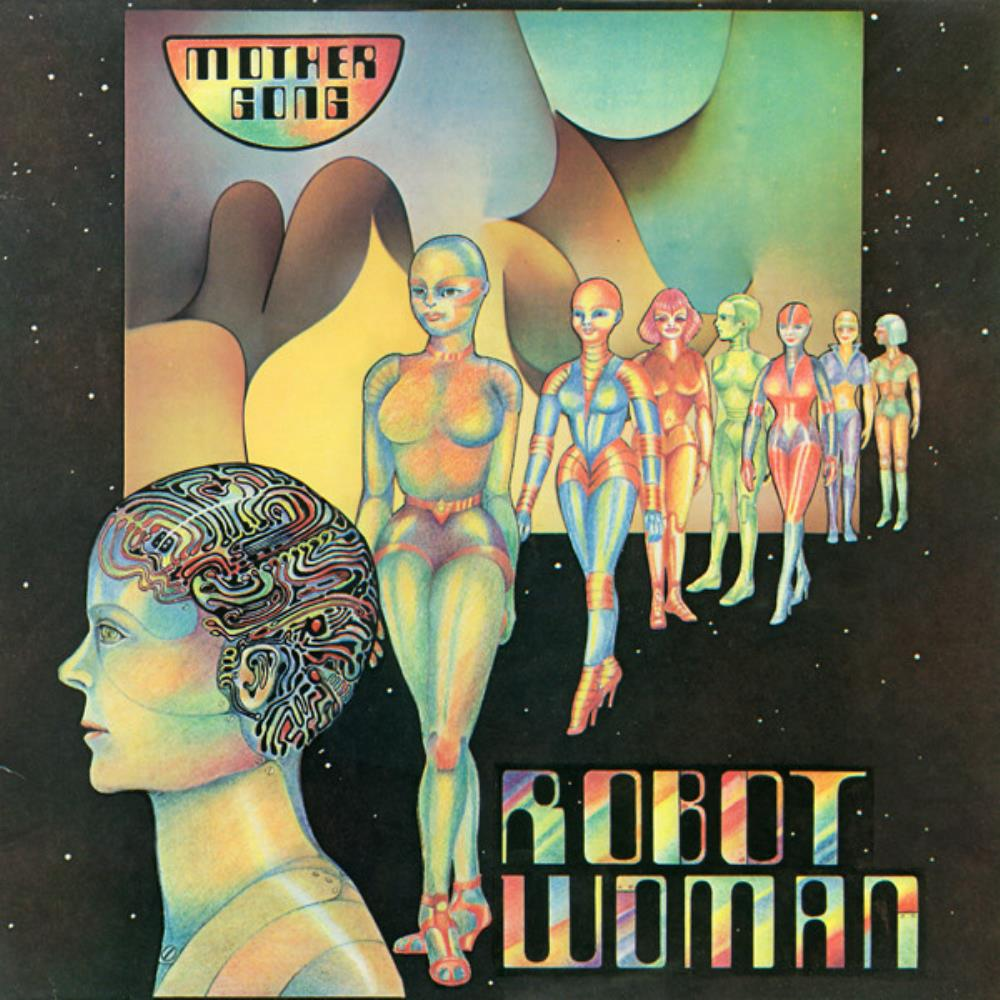 Mother Gong - Robot Woman CD (album) cover