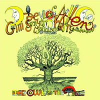 Mother Gong The Owl And The Tree (with Daevid Allen) album cover