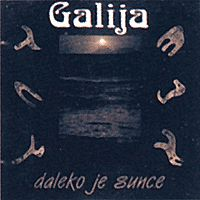 Daleko je sunce by GALIJA album cover