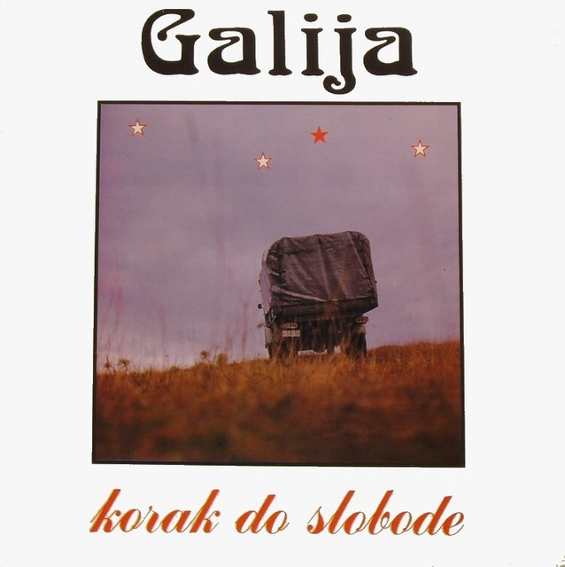 Korak do slobode by GALIJA album cover