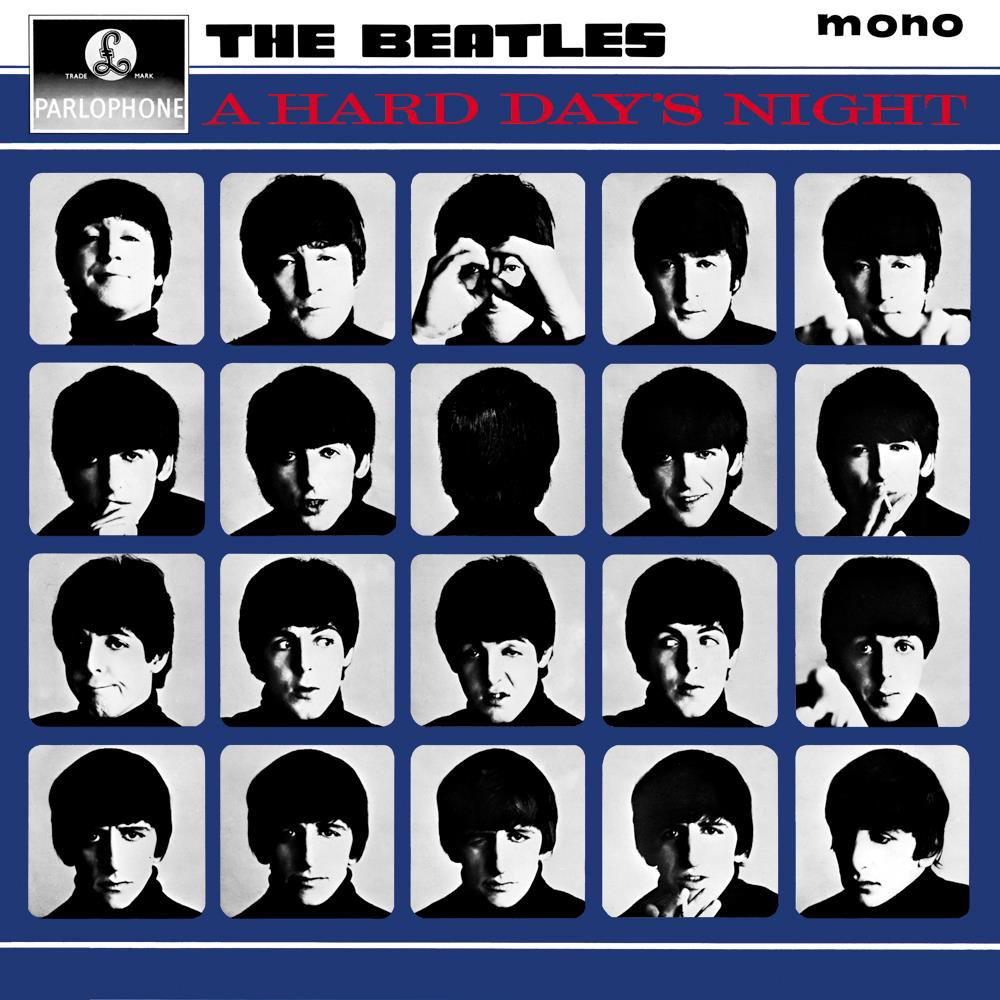 A Hard Day's Night by BEATLES, THE album cover