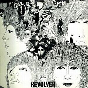The Beatles Revolver (US) album cover