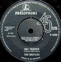 The Beatles Day Tripper album cover