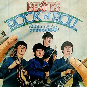 The Beatles Rock 'n' Roll Music album cover