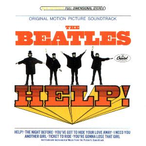 Help (US version) by BEATLES, THE album cover