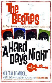The Beatles A Hard Day's Night album cover