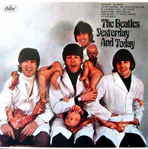 The Beatles Yesterday and Today album cover