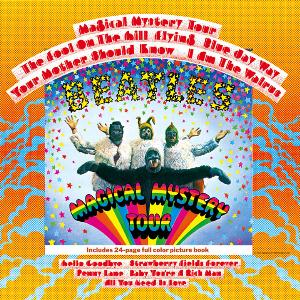 The Beatles - Magical Mystery Tour (US Version) CD (album) cover