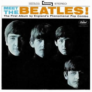 The Beatles - Meet the Beatles CD (album) cover