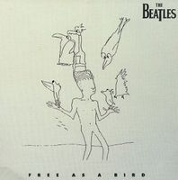 The Beatles - Free As A Bird CD (album) cover