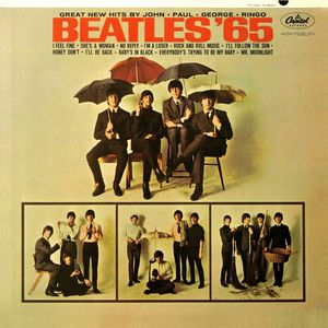 The Beatles Beatles '65 album cover