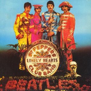 The Beatles Sgt. Peppers Lonely Hearts Club Band/With A Little Help From My Friends album cover