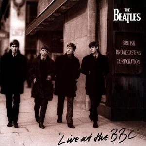 The Beatles Live at the BBC album cover
