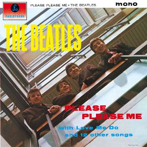 Please Please Me by BEATLES, THE album cover