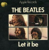 The Beatles - Let It Be CD (album) cover