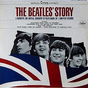 The Beatles The Beatles' Story album cover
