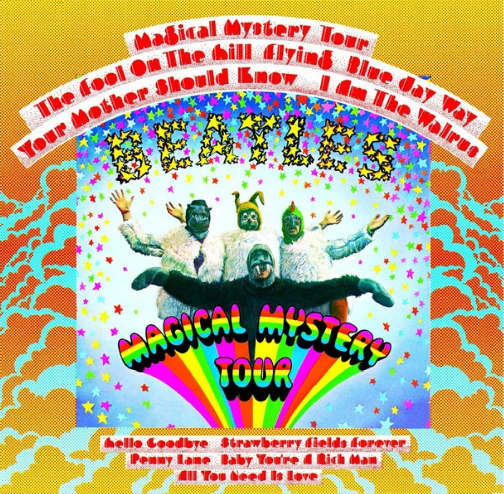 Magical Mystery Tour by BEATLES, THE album cover