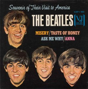 The Beatles Souvenir of Their Visit to America album cover