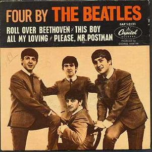 The Beatles Four By The Beatles album cover