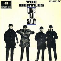 The Beatles Long Tall Sally album cover