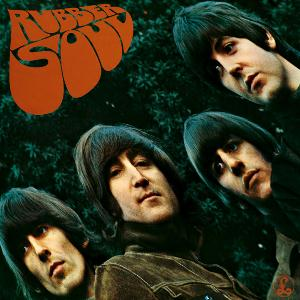 The Beatles Rubber Soul album cover