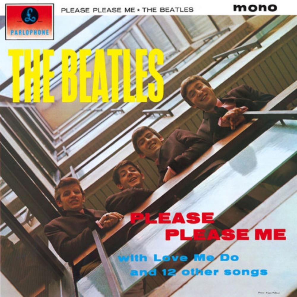 The Beatles Please Please Me album cover