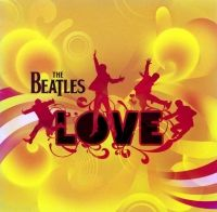 The Beatles Love album cover