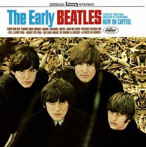 The Beatles The Early Beatles album cover