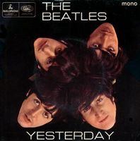 Yesterday by BEATLES, THE album cover