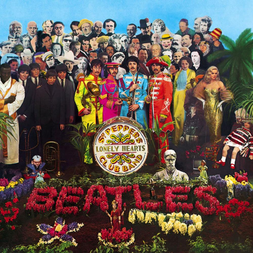 The Beatles - Sgt. Pepper's Lonely Hearts Club Band CD (album) cover