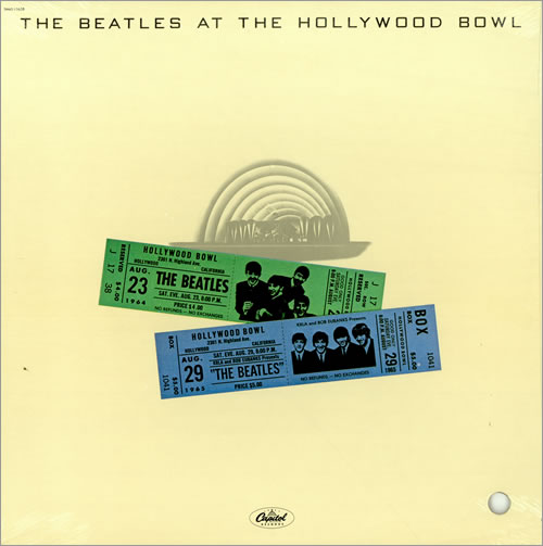 The Beatles - The Beatles at the Hollywood Bowl CD (album) cover