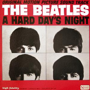 The Beatles A Hard Day's Night (US version) album cover