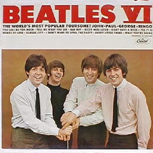 The Beatles Beatles VI album cover
