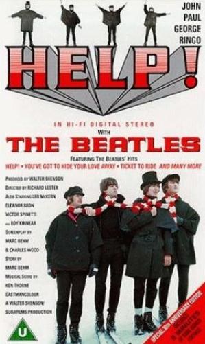 Help! by BEATLES, THE album cover