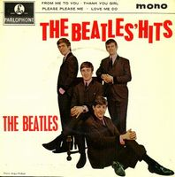 The Beatles The Beatles Hits album cover