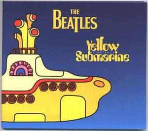 The Beatles Yellow Submarine Songtrack Sampler album cover