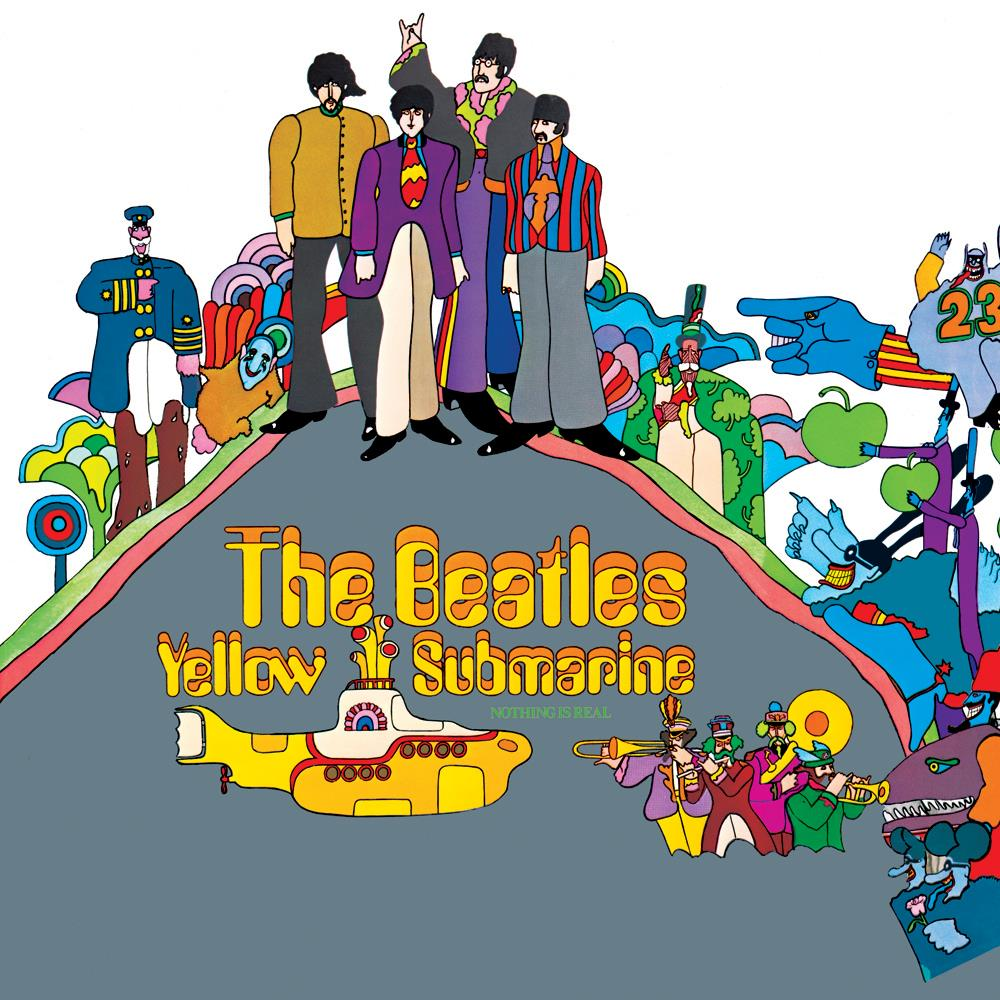 Yellow Submarine by BEATLES, THE album cover