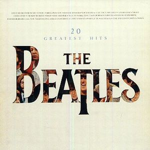20 Greatest Hits by BEATLES, THE album cover