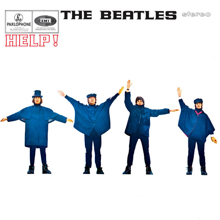 The Beatles Help! album cover