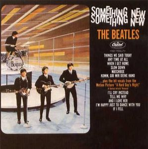 The Beatles Something New album cover