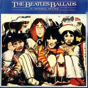 The Beatles The Beatles Ballads album cover