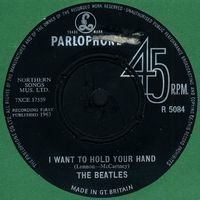 The Beatles I Want To Hold Your Hand album cover