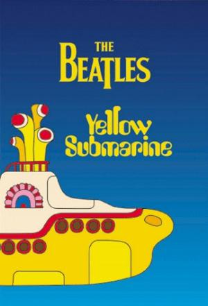 The Beatles Yellow Submarine album cover